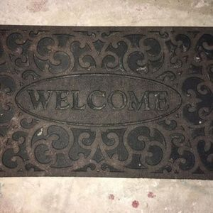 Other - Recycled Rubber Welcome Door Mat